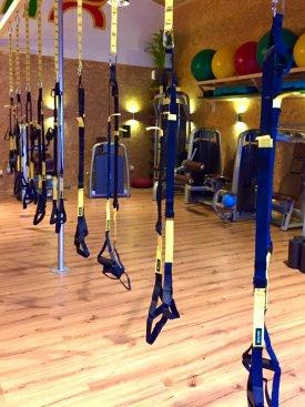 Schlingentraining: Nach unserer Einführung kannst Du den Schlingentrainer jederzeit frei auf unserer Trainingsfläche nutzen.