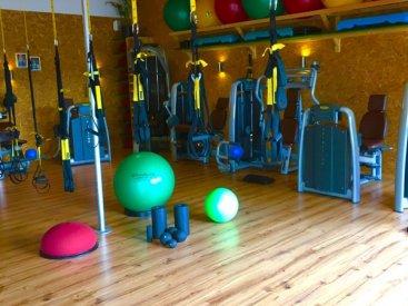 Unser moderner und freundlicher Trainingsraum