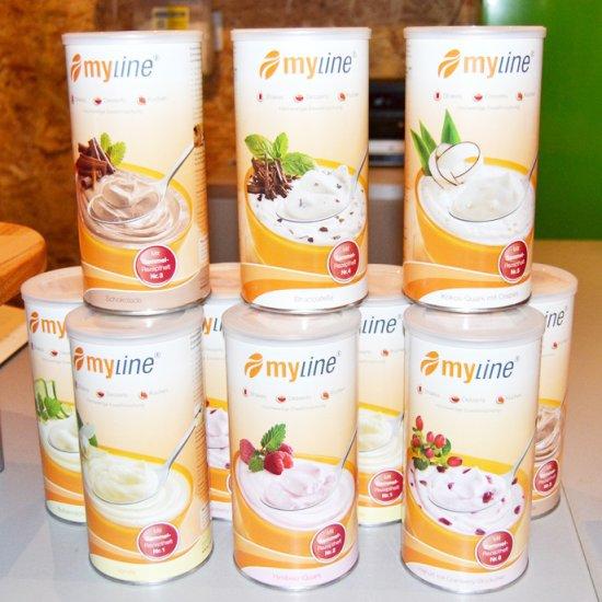 """""""Myline"""" Eiweiß – Shake bei uns erhältlich"""